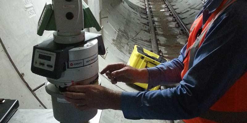 Gyroscope Scanning at Lynton Surveys